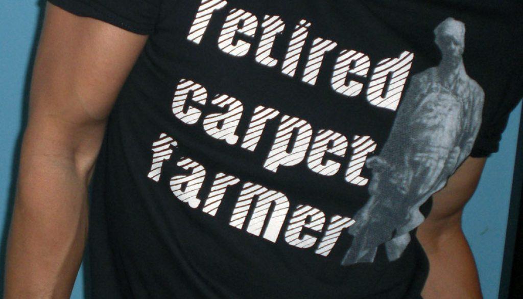 FORMER CARPET FARMER
