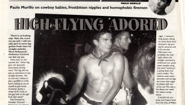 HIGH FLYING ADORED – FAB! NOVEMBER 24, 2000