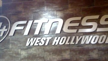 A CHANGE OF FACE: West Hollywood 24-Hour Fitness Gym Now OPEN!!!