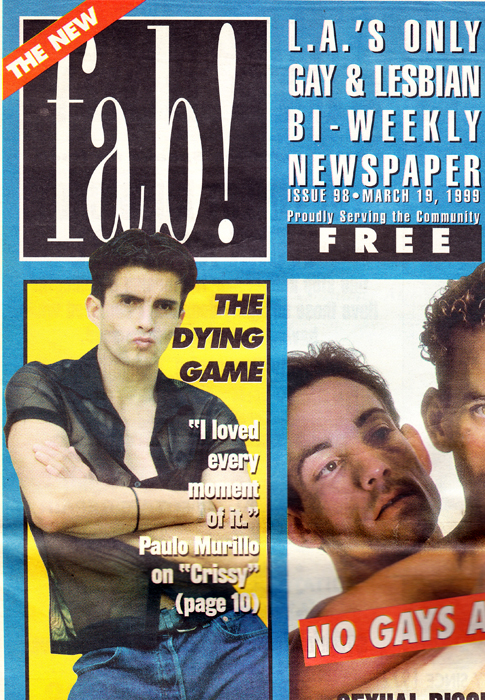 THE DYING GAME - fab! March 19, 1999 - Issue 98