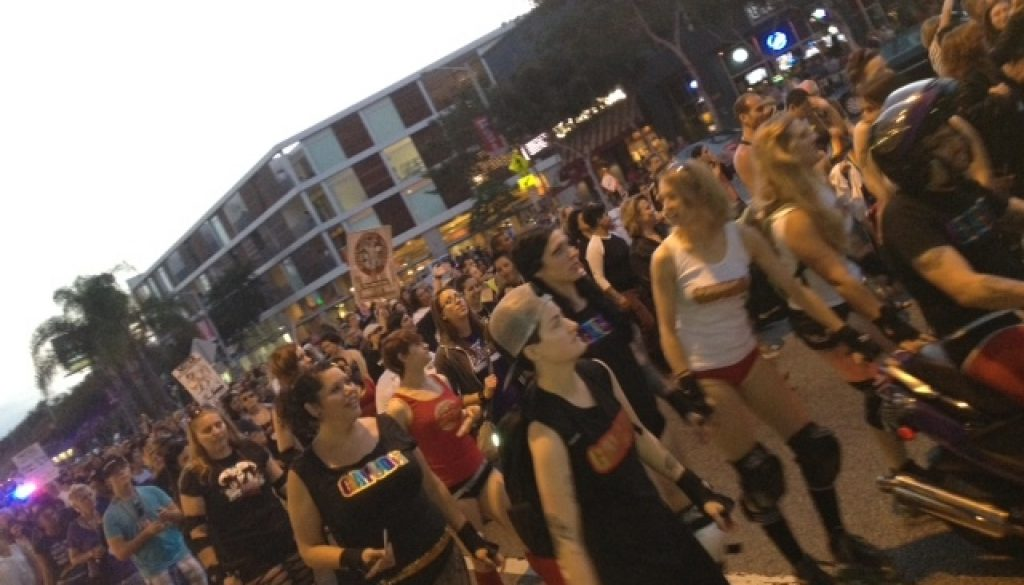 ANNUAL WEHO DYKE MARCH KICKS OFF LA PRIDE 2012