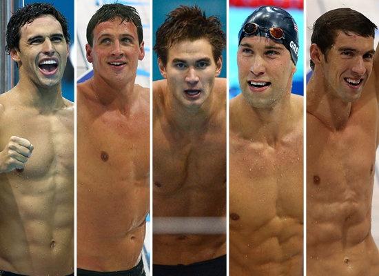 2012 LONDON OLYMPICS & THE MODEST SPEEDO PEOPLE