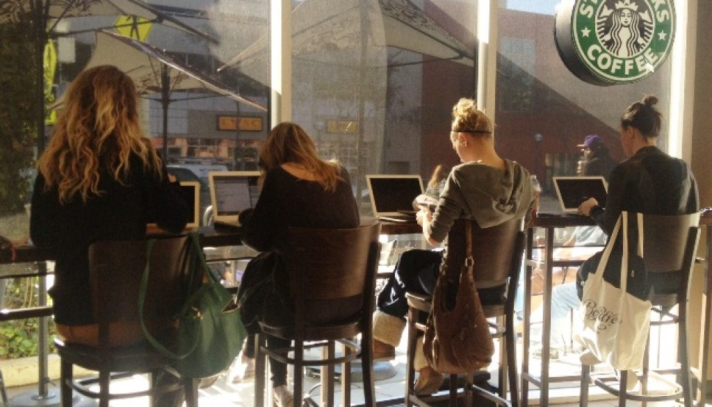 OFFICE SPACE - A CALL FOR TIME LIMITS AT YOUR LOCAL STARBUCKS
