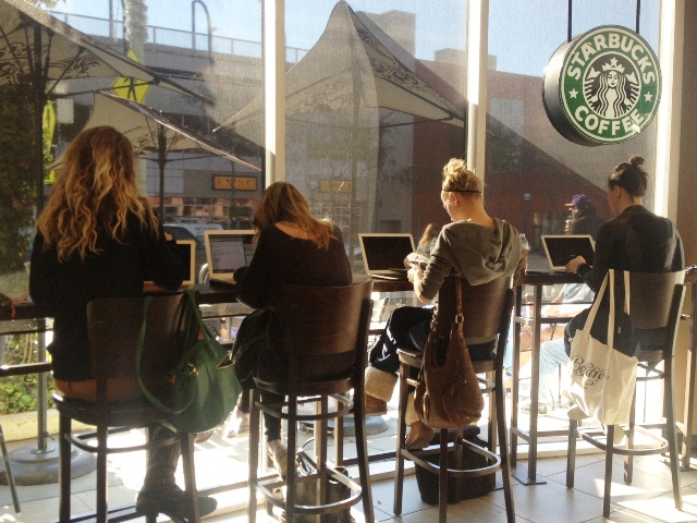 OFFICE SPACE – A CALL FOR TIME LIMITS AT YOUR LOCAL STARBUCKS