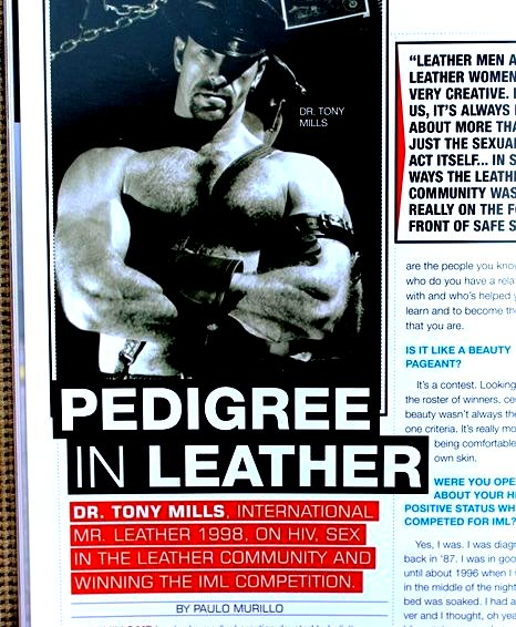 Leather Article by Paulo Murillo