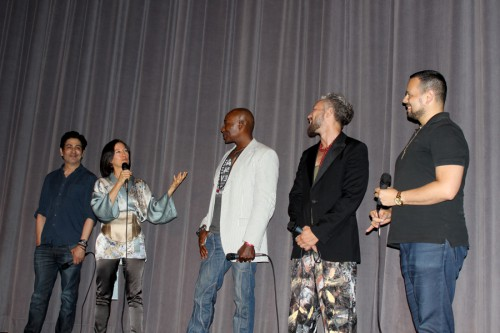 Alek Keshishian, Donna DeLory, Carlton Wilborn, Kevin Stea & Luis Camacho at Outfest screening of Madonna: Truth or Dare Documentary