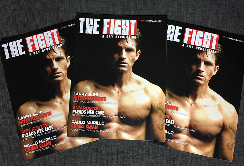 FEB 2016 Marks 5 Year Anniversary for THE FIGHT MAGAZINE