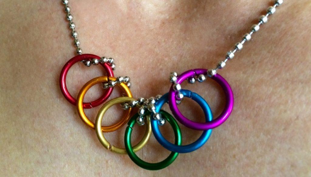 Paulo Pride Rainbow Rings